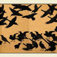 Zen Crows Art Prints & Posters by CovingtonArt