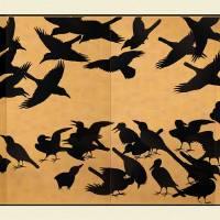 Zen Crows Art Prints & Posters by Kenny Bakeman