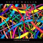 """Particle Track #1"" by SCOTTWALLINFINEARTS"