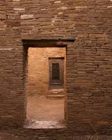 Dark Chaco Doors at Pueblo Bonito