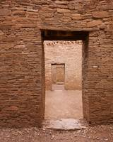 Light Chaco Doors at Pueblo Bonito