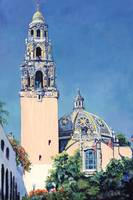 California Building Tower Balboa Park