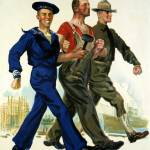 """WORLD WAR ONE POSTER"" by homegear"
