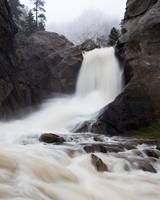 Boulder Falls in the Fog 3
