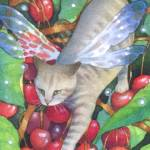 """Climbing Cherries"" by yarmalade"