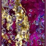 """""""Macro purple water stream"""" by NataliaKir"""