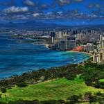 """Tilt Shift Diamond Head"" by travelbug"