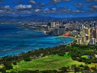 Tilt Shift Diamond Head