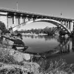 """Rainbow_Bridge_BW_062611_0123"" by kevinbanks"