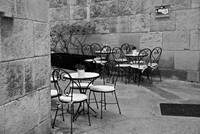 Cafe Chairs - Barcelona, Spain