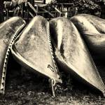 """Canoes"" by photo-jules"