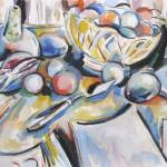 """Palette Knife Still Life"" by tracysabin"