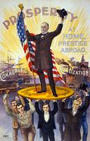 1896 POLITICAL POSTER