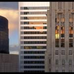 """""""San Francisco Skyline Rearranged"""" by worldwidearchive"""