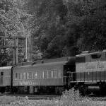 """Canadian Pacific Railway, passenger train."" by tagauthier"