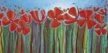 Poppies at Dawn