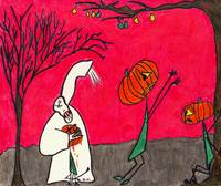 Pumpkin Ghost Slasher