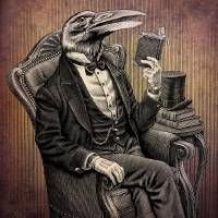 Victorian Crow Art Prints & Posters by John Thompson