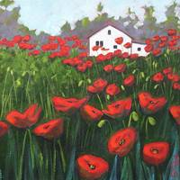 Poppy Field - detail
