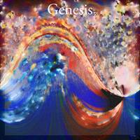 Genesis- Entire KJV Manuscript Overlaid Art