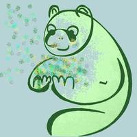 Panda Bear Pop Art