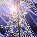 """Pylon electrical communication"" by riclip"