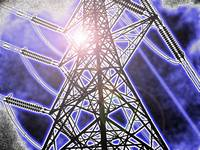 Pylon electrical communication