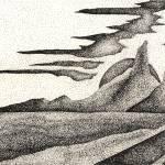 """""""Pen & Ink Fine Art Of A Southwestern Landscape"""" by drawingwithdots"""