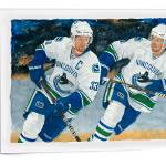 """Sedin Twins"" by GameOnImages"