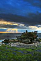 Ray of Light at  TanahLot