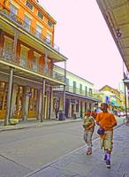 Kids in the French Quarter, New Orleans