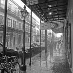 """Downpour on Decatur Street, New Orleans"" by louismaistros"