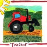 """Brondon Koh 6- Tractor"" by sabahkinderart"