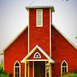 """Little Red Church"" by bluejawa"