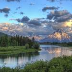 """Sunrise At Oxbow Bend"" by GlendaBorchelt"