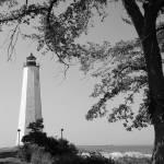 """Summer Lighthouse BW"" by karolsstuff"