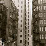 """Black & White Buildings"" by robvena"