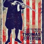 """Thomas Jefferson Join The Revolution Propaganda Po"" by libertymaniacs"