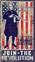 Thomas Jefferson Join The Revolution Propaganda Po