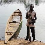 """The Road to Bamako via dugout canoe"" by davedyet"