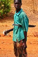 Hunter, Eastern Mali... near Falémé River
