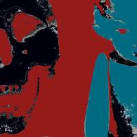 Black Box Skull and Dolly went Warhol Art Prints & Posters by Liz James