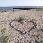 """Beach Heart"" by JohnEdwardThomasPhoto"