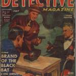"""Black Book Detective 1st Black Bat July 1939"" by pulps1st"