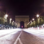 """Arc de Triomphe at Night"" by SeansPhotos"