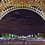 """Eiffel Tower at Night HDR"" by SeansPhotos"