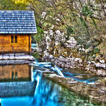 """Mill in Rakovica, Slovenia HDR"" by SeansPhotos"