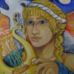 """Apollon Lykeios"" by hellenicspiritarts"