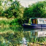 """Narrow Boat on the River Nene"" by InspiraImage"
