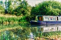 Narrow Boat on the River Nene